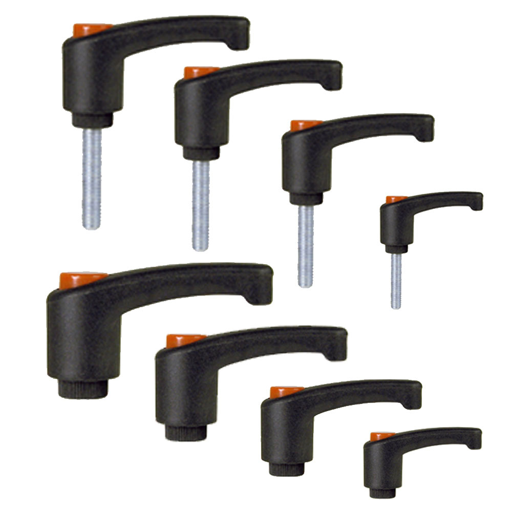 EHC Knobs - Adjustable Ergonomic Ratchet Handle Series