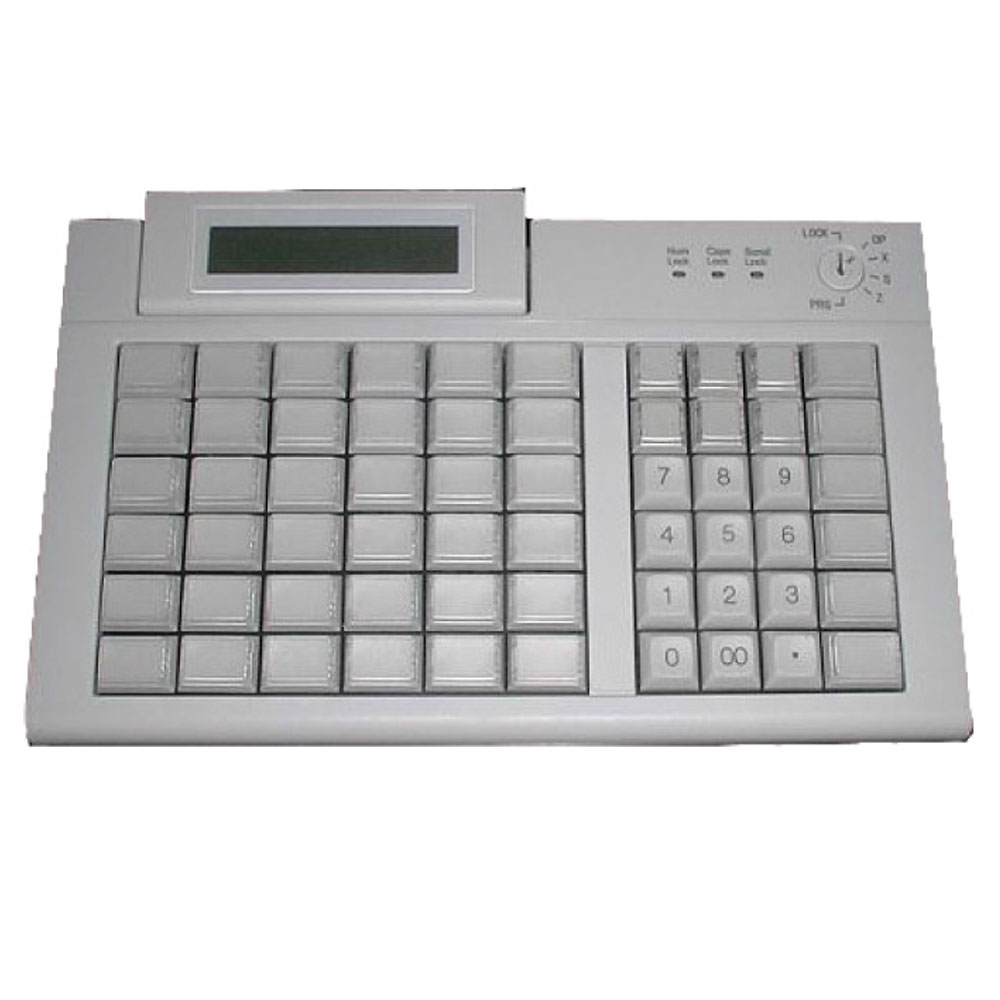 Active Key AK-19C POS Keyboard with Integrated Display
