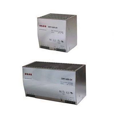 Elco Three Phase Mains Switching Power Supplies - DRT Series