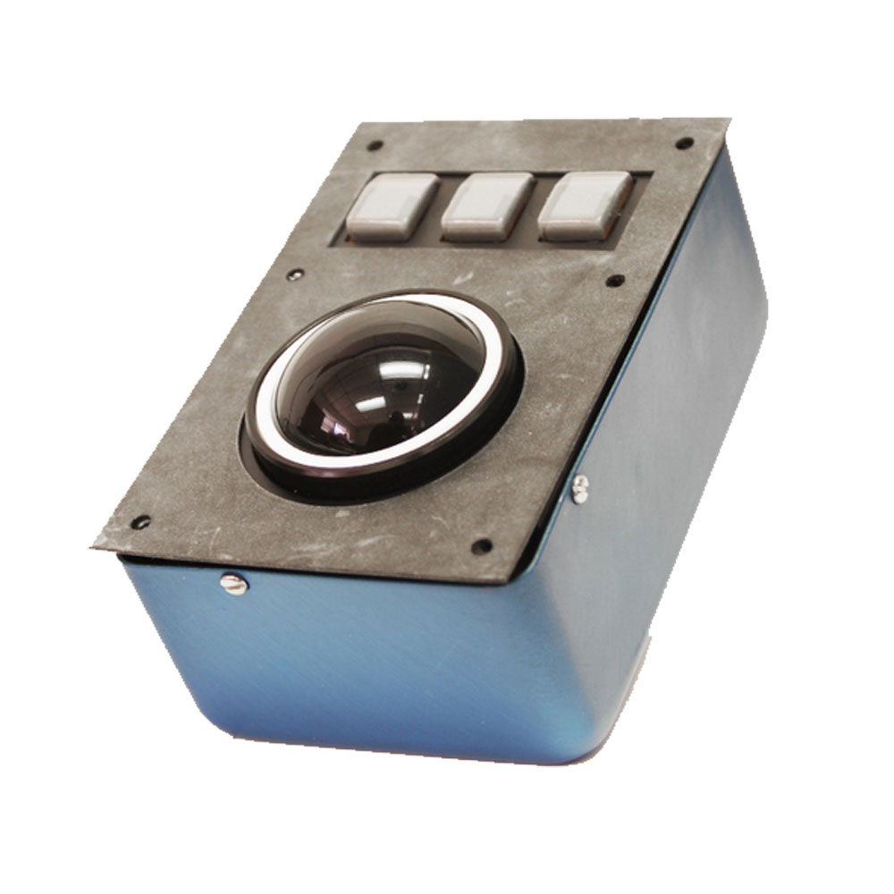 CTI Panel Mount Industrial Trackballs - T70X3 Series