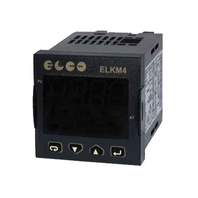 Elco Temperature Controller Microprocessor Based Regulators - ELKM4 Series