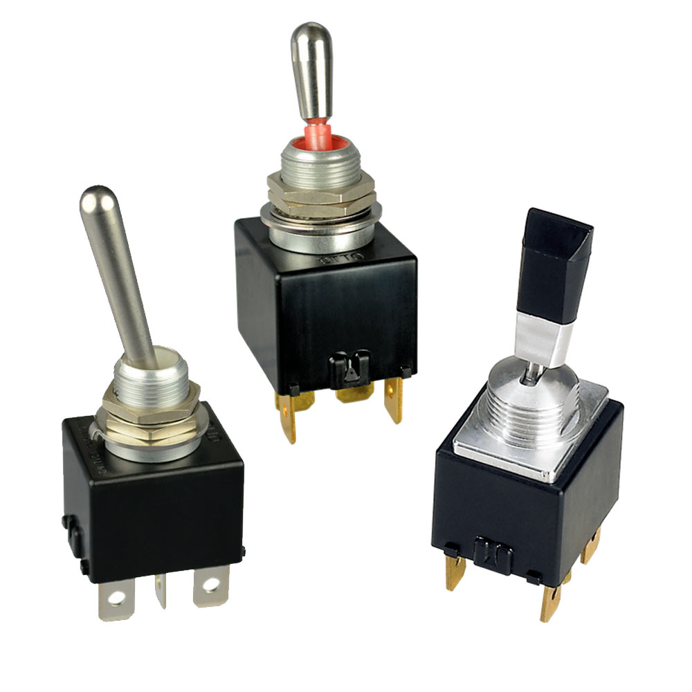 T7 - Lower Cost Sealed Toggle Switch Range