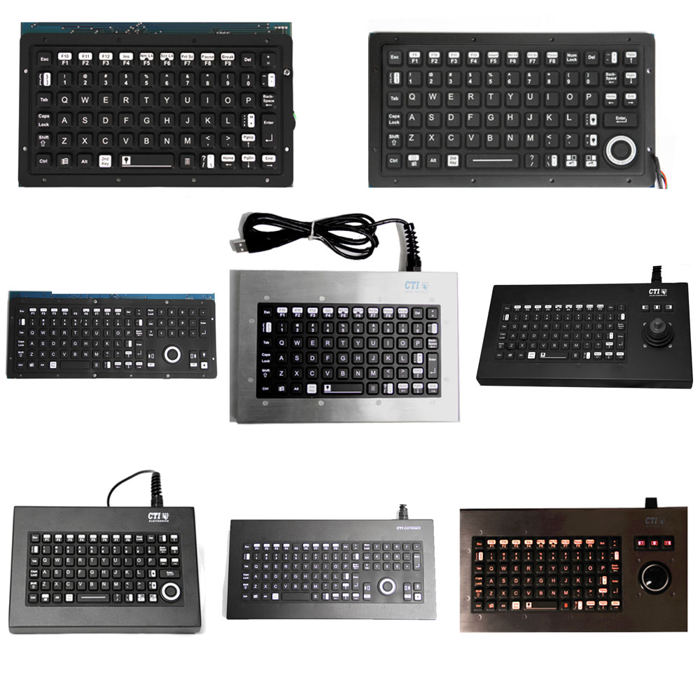 CTI OEM Backlit, Illuminated Keyboard Range