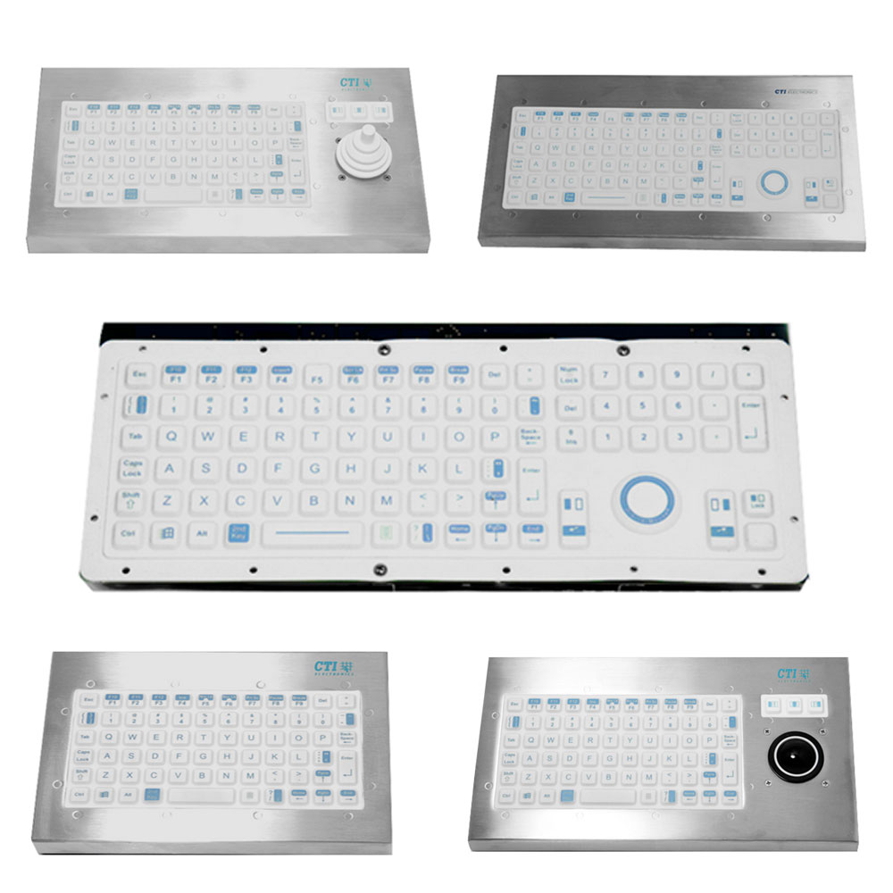 CTI Medical Keyboard Range (Panel Mount)