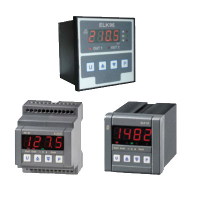 Elco Temperature Controller Microprocessor Based Regulators -  ELK35 S, ELK72, ELK96 Series