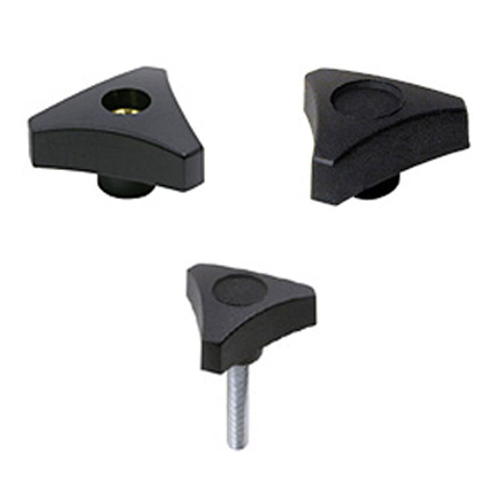 EHC Knobs - Control Knobs - 3 Prong Clamp Knob Series