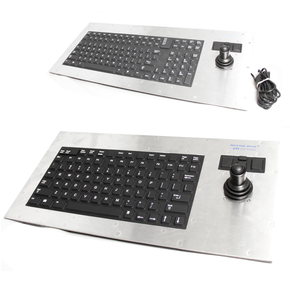 CTI Panel Mount Industrial Keyboard Range