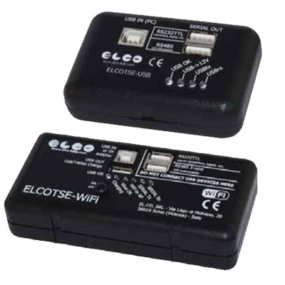 Elco Programming Interface Software for TSE Converters
