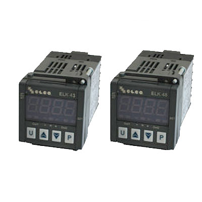 Elco Temperature Controller Microprocessor Based Regulators - ELK 4 Series