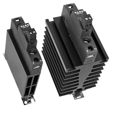 Elco 1 Phase SCR Solid State Relay with Heat Sink - SSR170H Series