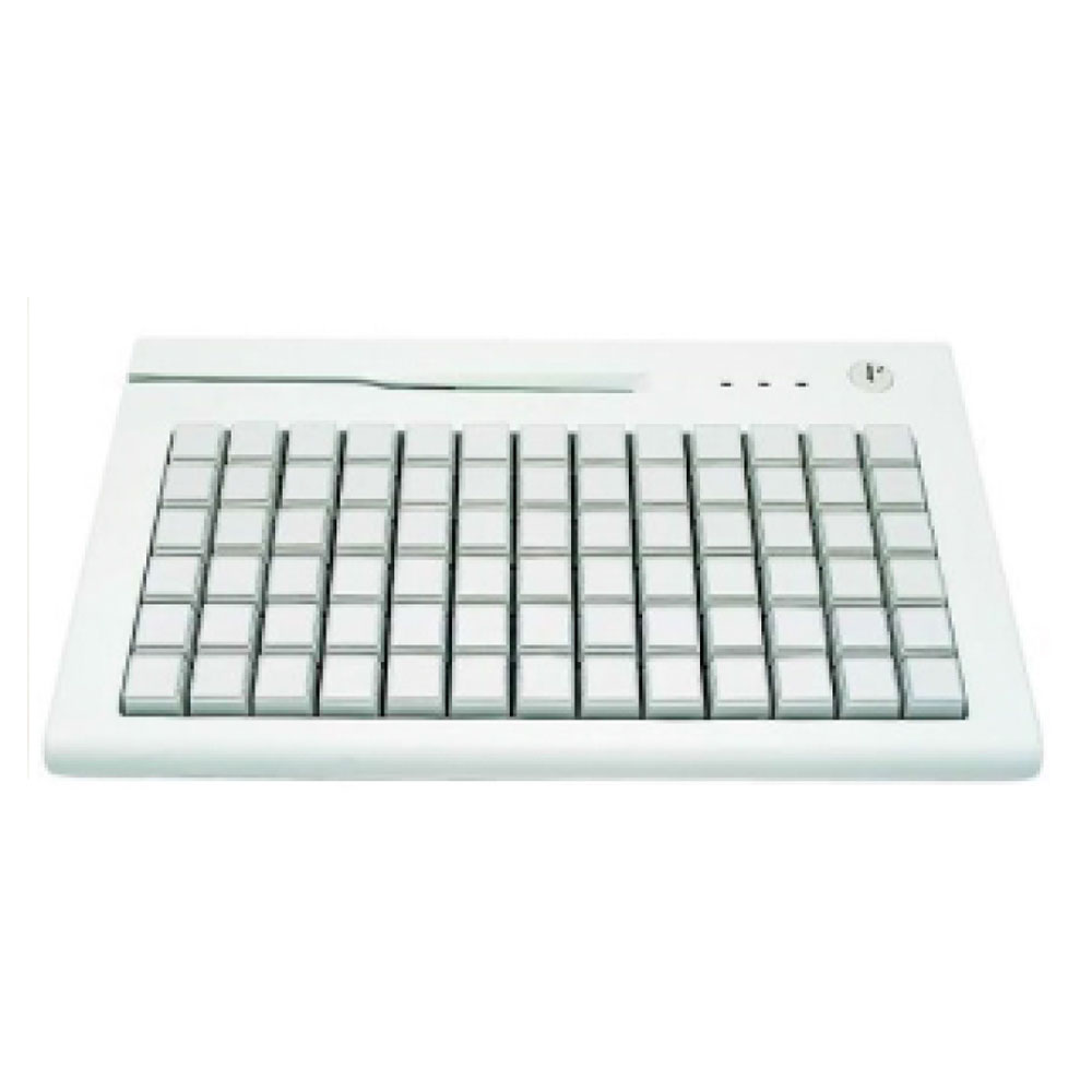 AK-189 78 Key POS Keyboard with MSR Reader & Key Lock